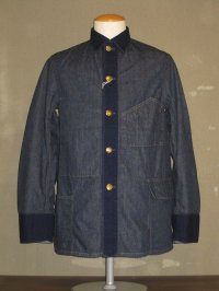 "FREEWHEELERS (フリーホイーラーズ) ""YARD MASTER WORK COAT"" col. 10oz INDIGO DENIM"