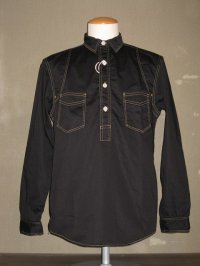 FREEWHEELERS (フリーホイーラーズ) 〜STEEL DRIVER WORK SHIRTS〜 col. BLACK