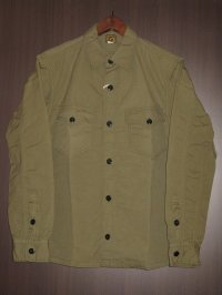 FREEWHEELERS (フリーホイーラーズ) )〜 U.S.NAVY C.P.O. SHIRTS〜 col. LIGHT OLIVE