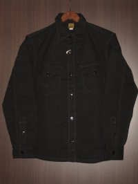 FREEWHEELERS (フリーホイーラーズ) )〜 U.S.NAVY C.P.O. SHIRTS〜 col. BLACK