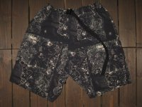 "FREEWHEELERS (フリーホイーラーズ) ""OUTDOOR SHORTS"" col. ANCIENT MAP MONOTONE PRINT"