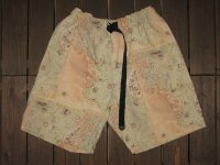 "FREEWHEELERS (フリーホイーラーズ) ""OUTDOOR SHORTS"" col. ANCIENT MAP COLOR PRINT"