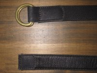 COLIMBO (コリンボ) 〜4 MILE CREEK REVERSIBLE BELT〜 col. BLACK