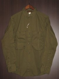"FREEWHEELERS (フリーホイーラーズ) ""DECK WORKER SHIRTS"" col. OLIVE"