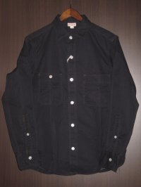 FREEWHEELERS (フリーホイーラーズ) )〜 DIAMOND CRACKER WORK SHIRTS〜 col. NAVY