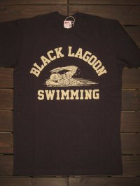 "FREEWHEELERS (フリーホイーラーズ) ""BLACK LAGOON SWIMMING CLUB"" col. JET BLACK"