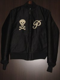 "FREEWHEELERS(フリーホイーラーズ)""DECK JACKET"" 〜U.S.NAVY PIRATES〜  col. DARK NAVY"